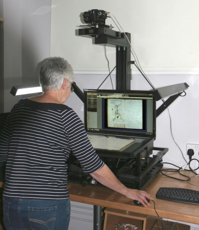 iCam archival scanning equipment